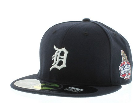Detroit Tigers 2012 MLB WORLD SERIES HAT Sf1